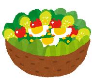 打ち上げサラダ