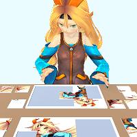 ユニティちゃんとパズル対決